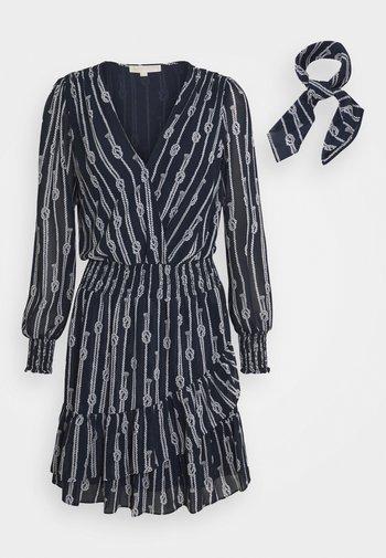 SAILOR KNOT - Day dress - dark blue