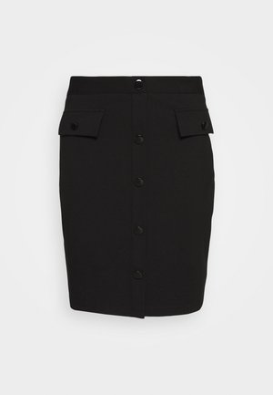 ILARIA SKIRT - Pencil skirt - jet black