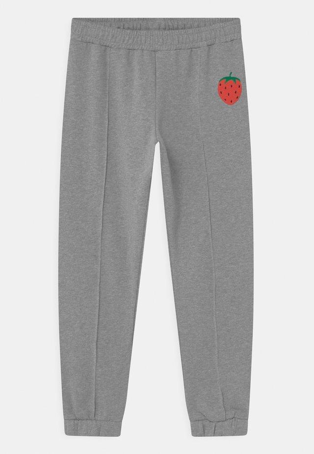STRAWBERRY UNISEX - Pantalon classique - grey melange