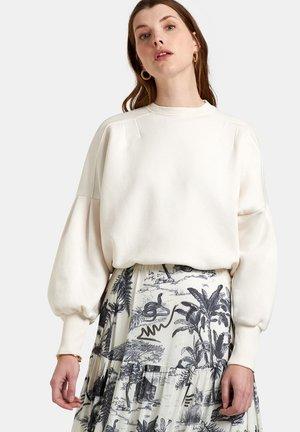SAN SWEATER - Sweatshirt - white