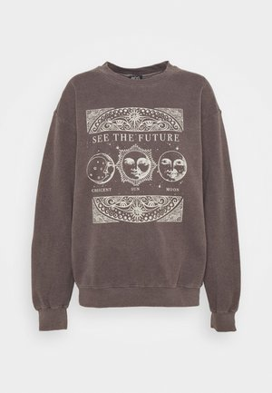 SEE THE FUTURE - Sweatshirt - brown