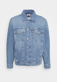 Tommy Jeans - OVERSIZE TRUCKER  - Denim jacket - light blue denim - 4