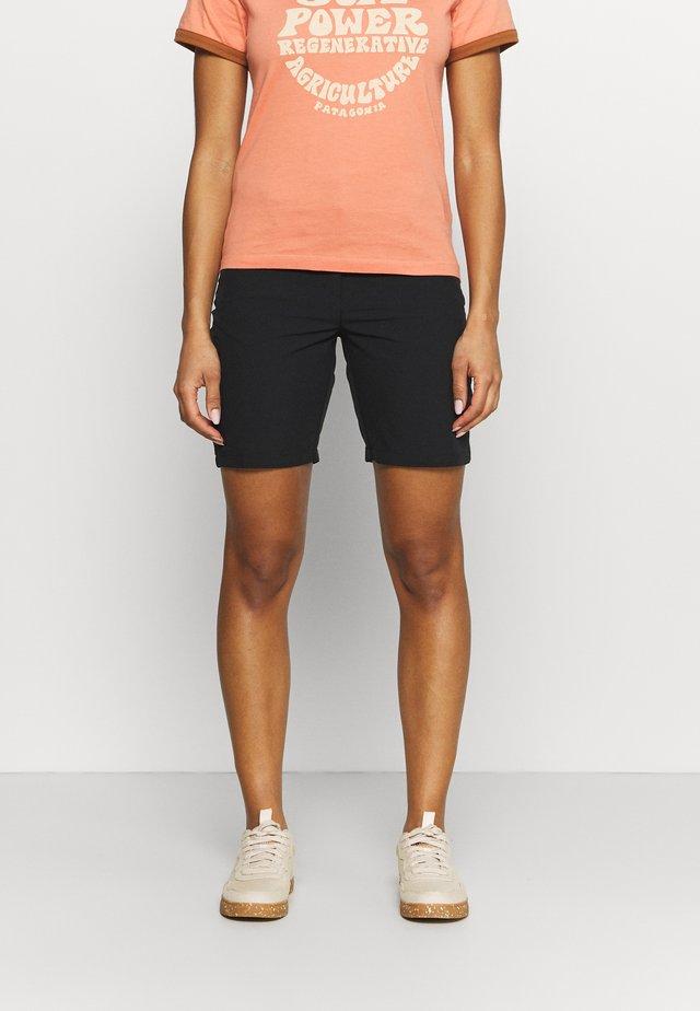 ICEPEAK BEAUFORT - Shorts outdoor - black