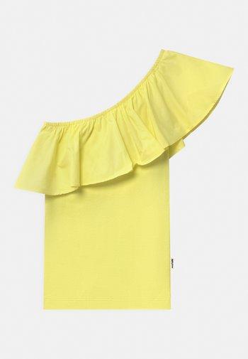 REBECCA - Top - pale lemon
