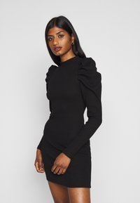 Fashion Union Petite - AMERICA MINI - Vestito estivo - black - 0