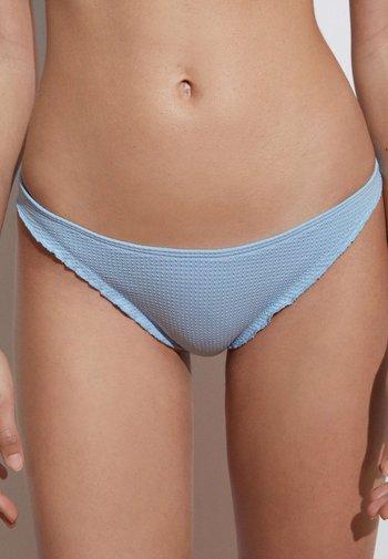SEAMLESS CURLY CLASSIC  - Bikini bottoms - light blue