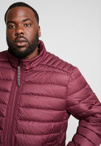 LERROS - LIGHT WEIGHT BLOUSON  - Light jacket - dark berry - 4