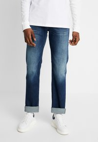 Tommy Jeans - RYAN  - Bootcut jeans - atlanta dark blue - 0