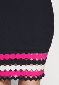 Milly - GEO CUT OUT DRESS - Jumper dress - navy/multi - 6