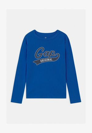 BOY VALUE GRAPHIC - Long sleeved top - active blue