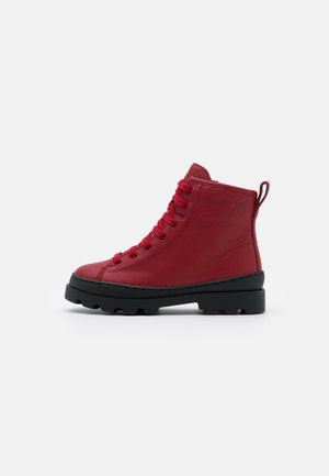 BRUTUS KIDS - Lace-up ankle boots - medium red