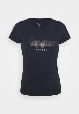 ANNA - T-shirt z nadrukiem - admiral