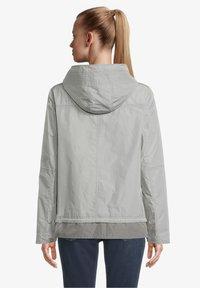 Amber & June - MIT KAPUZE - Waterproof jacket - quarry - 2