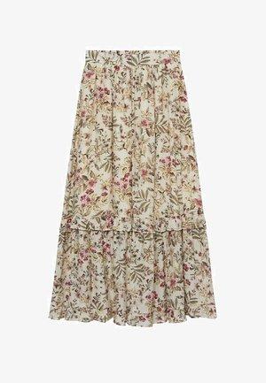 Pleated skirt - crudo