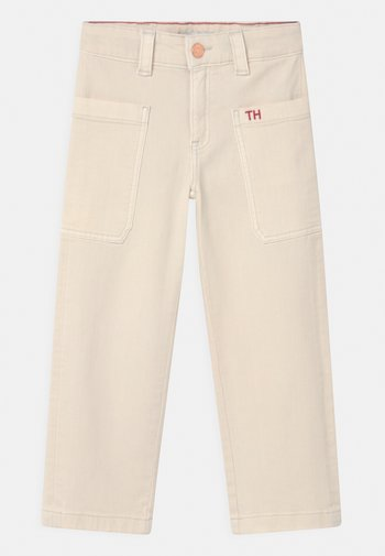 WIDE LEG WORKER - Relaxed fit jeans - natural wornout denim