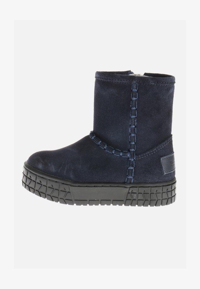 Korte laarzen - blau