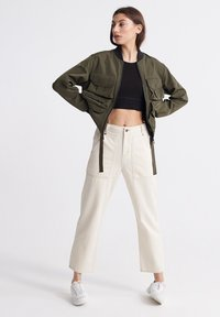 Superdry - NAMID - Bomber Jacket - bungee cord - 1