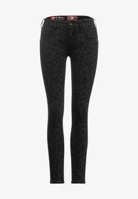 Street One - MIT LEO - Slim fit jeans - schwarz - 1