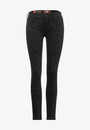 MIT LEO - Slim fit jeans - schwarz