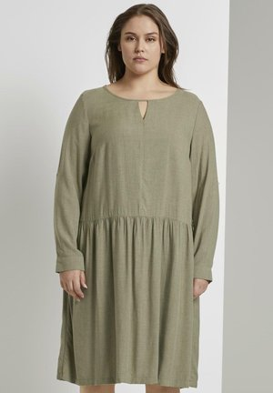 Jerseyjurk - new light khaki melange