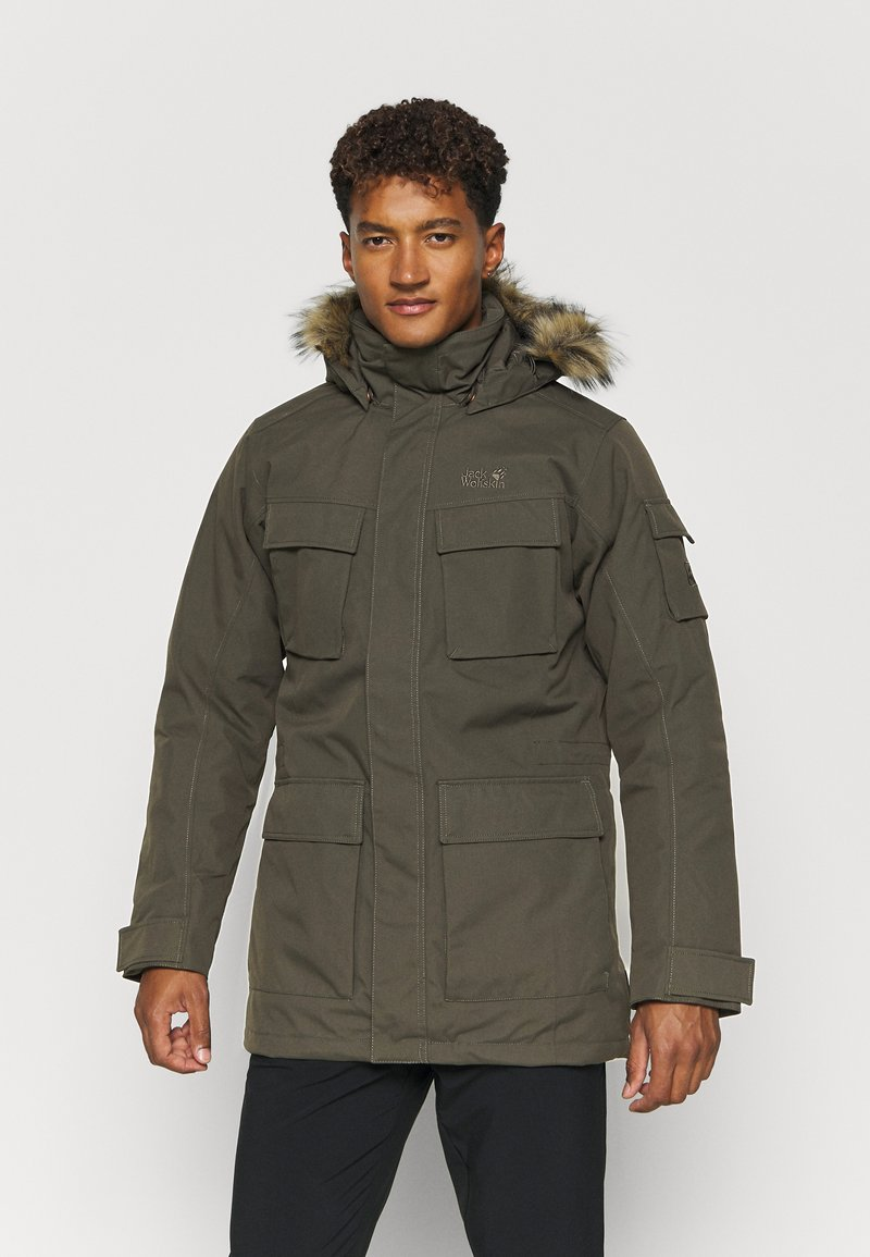 Jack Wolfskin - GLACIER CANYON - Winter coat - brownstone