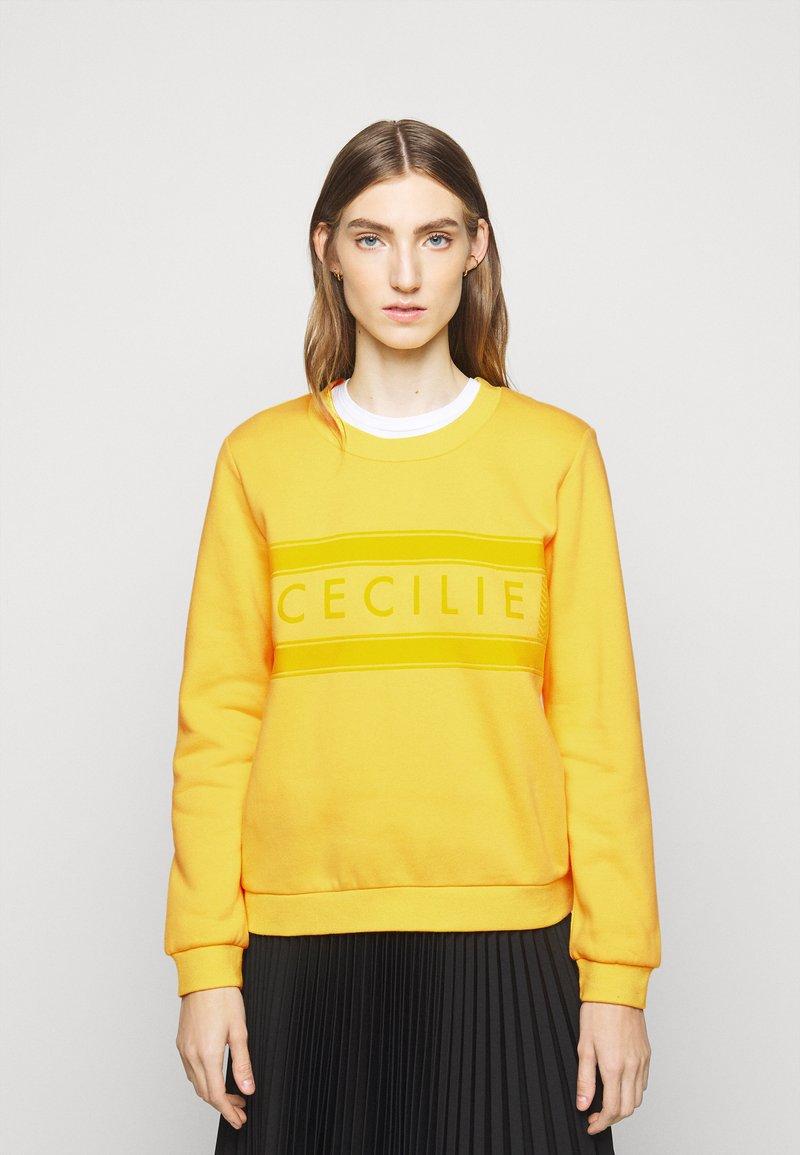 CECILIE copenhagen - MANILA - Sweatshirt - lemon