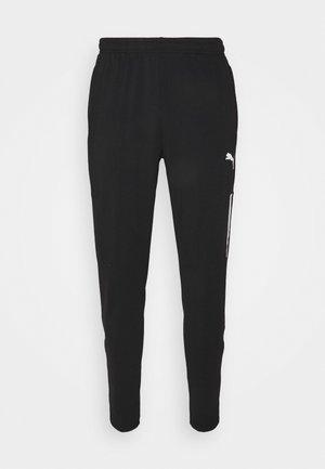 TEAMLIGA TRAINING PANTS PRO - Teplákové kalhoty - black/white