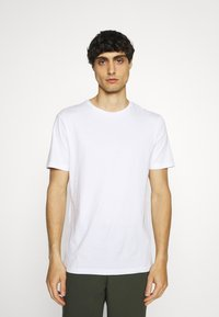 Pier One - 7 PACK - T-shirts basic - white/black/grey - 3