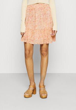 LOUISA - Minirok - pink/orange