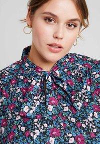 Fashion Union Plus - HIGH NECK DRESS WITH NECK TIE - Day dress - vintage meadow - 5