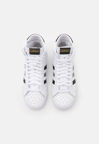 adidas Originals - BASKET PROFI UNISEX - Sneakers high - footwear white/core black/grey three - 3