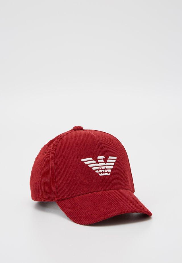 Caps - rubino candy red
