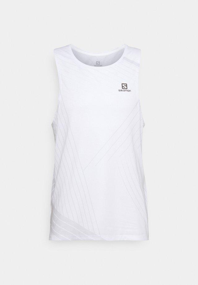 SENSE AERO TANK  - Top - white