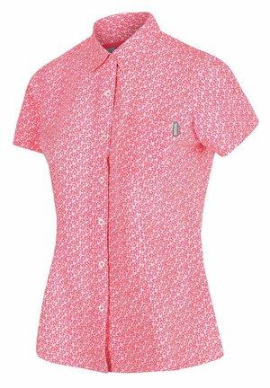 MINDANO WANDER - Button-down blouse - neon pink print