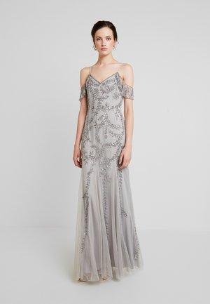 METTIA - Vestido de fiesta - silver