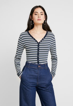 DREAM STRIPE CAROLLA SHORT - Cardigan - navy/multi