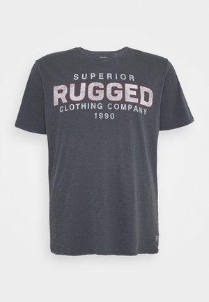 JJWASH TEE CREW NECK - T-shirt med print - ombre blue