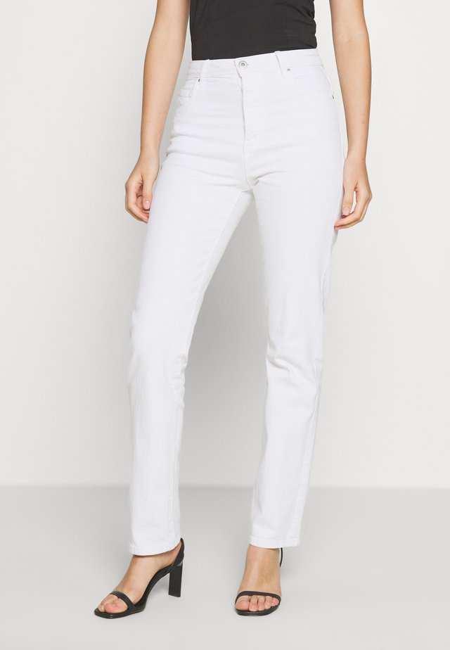 HIGH STRETCH - Jeans Straight Leg - vintage white