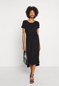 comma casual identity - Jersey dress - black - 1