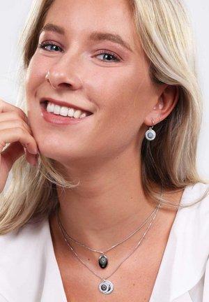 Earrings - silver coloured