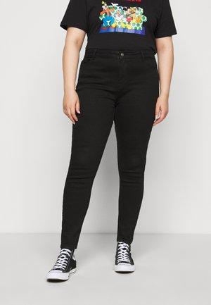 PCKAMELIA - Jeans Skinny Fit - black