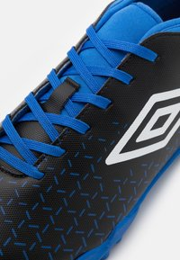 Umbro - VELOCITA V CLUB TF - Astro turf trainers - black /white/victoria blue - 5