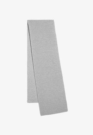 IRSAA - Scarf - light grey melange/oatmilk