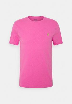CUSTOM SLIM FIT CREWNECK - Basic T-shirt - maui pink