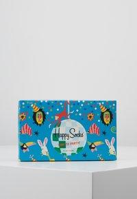 Happy Socks - HAPPY BIRTHDAY GIFT BOX 3 PACK - Socks - multi-coloured - 3