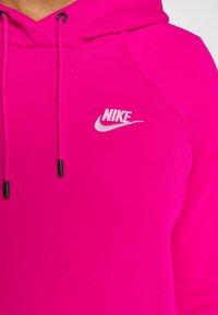 Nike Sportswear - HOODIE - Sweat à capuche - fireberry/white - 5