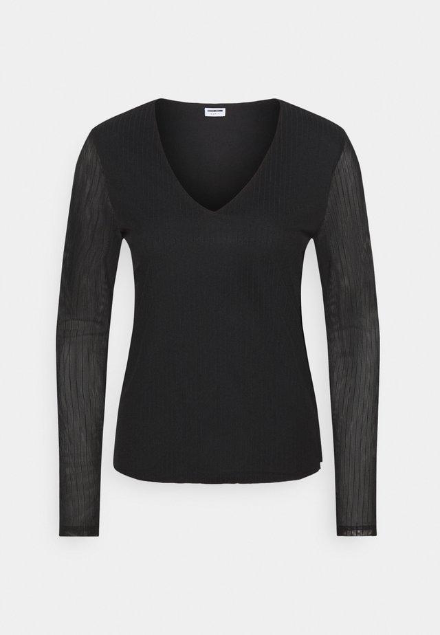 NMEMBER  - Bluzka z długim rękawem - black