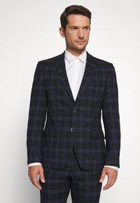 Ben Sherman Tailoring - CHECK SUIT - Completo - dark blue - 2