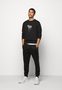 PS Paul Smith - COLORED ZEBRA  - Sweatshirt - black - 1