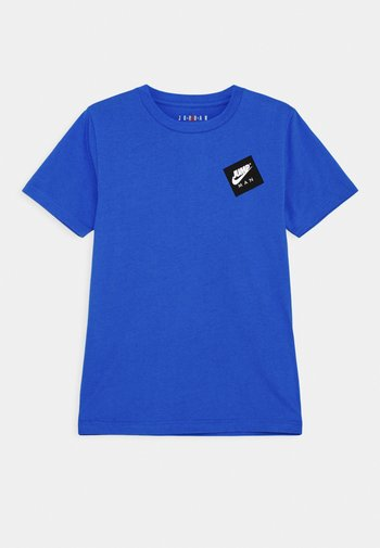 JUMPMAN STACK CLASSIC TEE UNISEX - T-shirt con stampa - signal blue